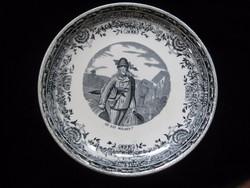Antik francia tányér  20cm  hibátlan