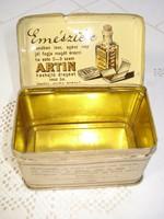 Antik gyógyszeres dobozka