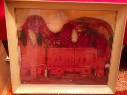Áron Nagy Lajos (1913-1987) : Szlovák táj (festmény)