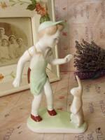 Aquincum nyuszis fiú,pékfiú nyúllal