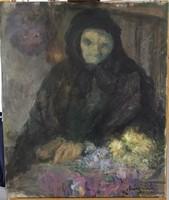 Móré MIhály: Öregasszony (képcsarnokos)