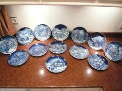 13 darabos gyütemény Bradex Bavária tányérok 1981-1993ig