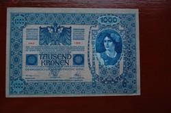 Szép 1902 1000 koronás!!
