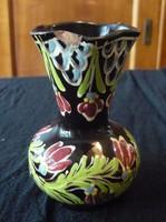 Nagyon régi vásárhelyi ( HMV)  kerámia váza  jelzett  Kiss. szignóval