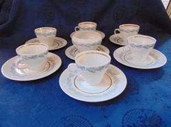 Angol kávés teás készlet