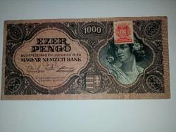 Dézsmás 1000 pengő UNC