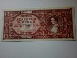 100000 B-. pengő UNC