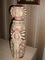 Anya gyermekével váza, 41 cm