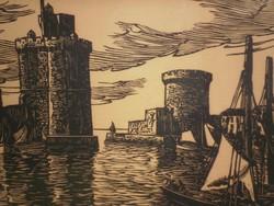 Raymond Enard (1902 - 1982) - Kikötő