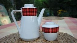 Retro mid century kávés teás készlet szett - HIBÁTLAN DARABOK !!!