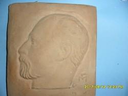 Medgyessy Ferenc: Önarckép terrakotta