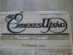 Érdekes Újság 1915.évi 3.szám-12.számig bekötött példánya