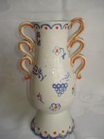 Füles kerámia váza