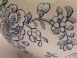 Wedgwood Blundell kínai motívumos angol porcelán cukortartó, bonbonier