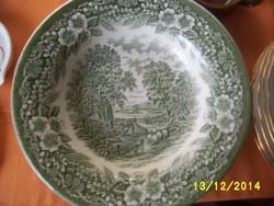 Angol jelenetes mély tányér