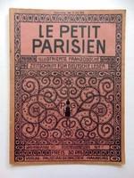 LE PETIT PARISIEN1912július11 RÉGI ÚJSÁG