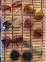 Különleges 7 darabból álló, retro napszemüveg gyűjtemény