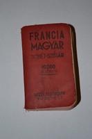 FRANCIA MAGYAR DIÓHÉJ - SZÓTÁR