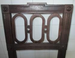 200 éves copf szék különleges kávával!
