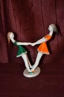 Hollóházi forgó lányok  ( DBZ 0033 )