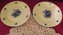 1801 2 db régi Bavaria süteményes tányér 19 cm