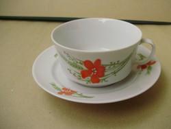 Alföldi pipacsos,pipacs mintás teáscsésze