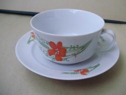 Alföldi pipacsos,pipacs mintás teáscsésze II.