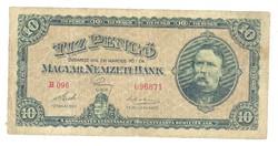 10 pengő 1926 nagyon ritka I. Eredeti állapot.