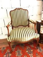 Barokk hibátlan karfás szék