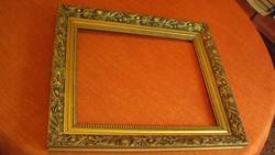 Kimondottan újszerű,elegáns(6.5 cm vastag) blondel keret,szép domború,antikolt dísszel.