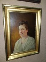 Perlmutter Imre női portré