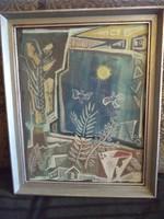 Bálint Endre eredeti festménye