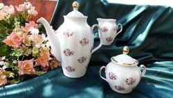 Lett (Rigai porcelán) teás együttes