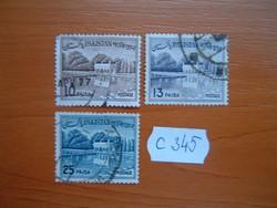 PAKISZTÁN 20-25 PAISA 3 DB  C345