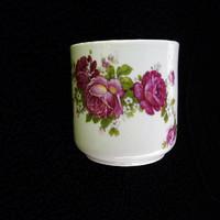 Zsolnay nagyon ritka rózsás csésze