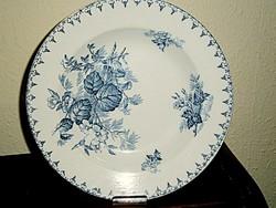 Antik Sarreguemines tányér 22 cm