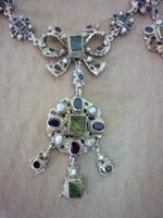 Antik ezüst ékszer szett