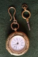 Antik arany női függő kulcsos óra eladó