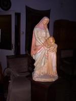 Egyházi szobor / Szent Anna a gyermek Szűz Máriával