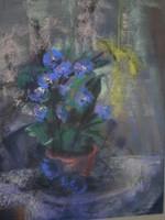 Sztelek Norbert (1884–1956) : Lila csendélet