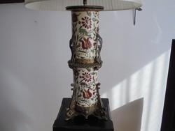 ZSOLNAY lámpa 1880-ból