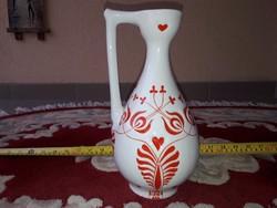 Zsolnay füles váza