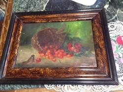 Régi szignált festmény eladó