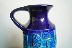 Jelzett Bodo Man kerámia váza NARVIK 60-as évek fat lava pottery BAY Keramik