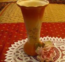 Szép kézzel festett nagy váza 28 cm-es ITALY