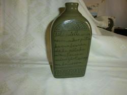 Zöldmázas, Zsolnay butélia