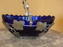 Kéküveg  asztalközép