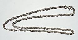 54 cm. hosszú ezüst nyaklánc