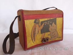 Retro uzsonnás táska
