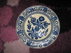 Korondi kerámia tál, tányér,  30,5x 3,5cm (22)